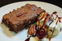 Brownie con Nueces Pecanas