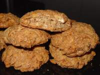Galletas integrales de muesli tropical