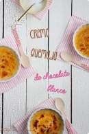 Crema quemada de chocolate blanco