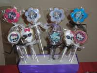Mi diario de Recetas y Reposteria Creativa: GALLETAS MONSTER HIGH: 2ª PARTE